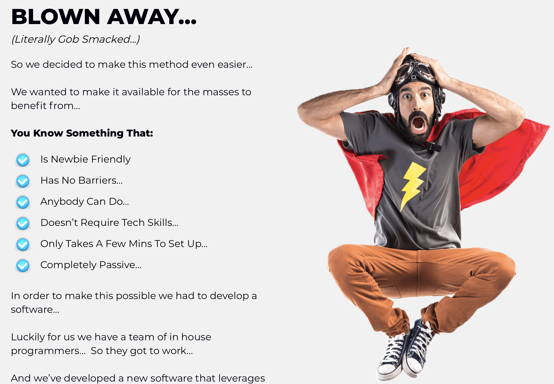 How to develop a landing page or a squeeze page